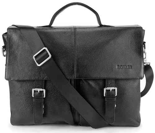Black Messenger Bag  Manhattan 2